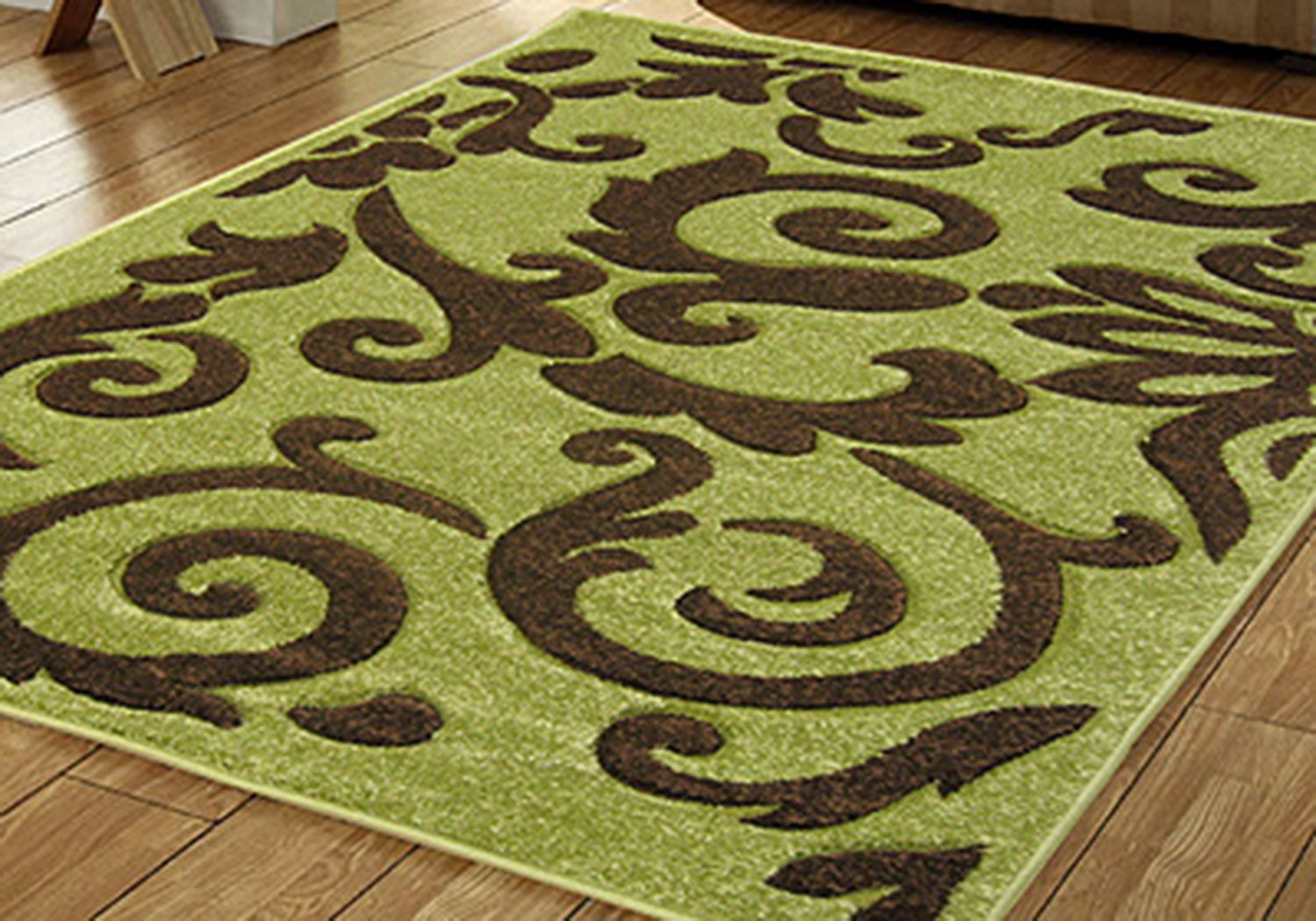 Lime Green Brown | Lime Green And Brown Rug Small Medium Large Green Brown  Modern 10