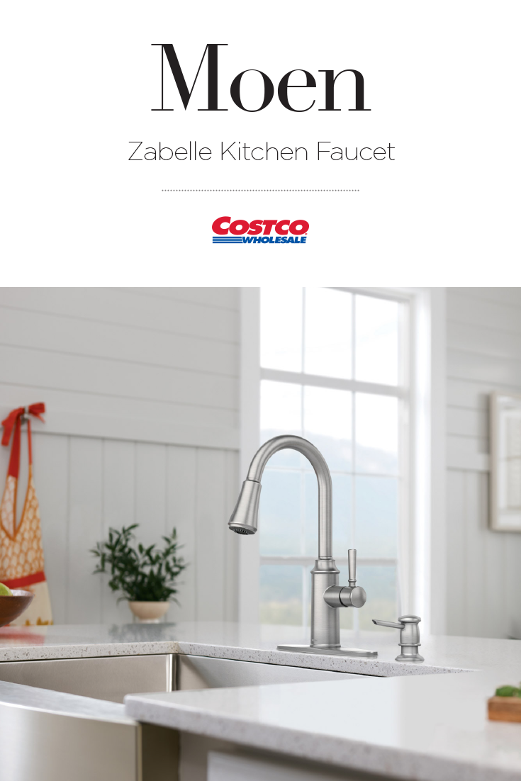 The Zabelle Faucet By Moen Is Designed To Meet The Needs Of