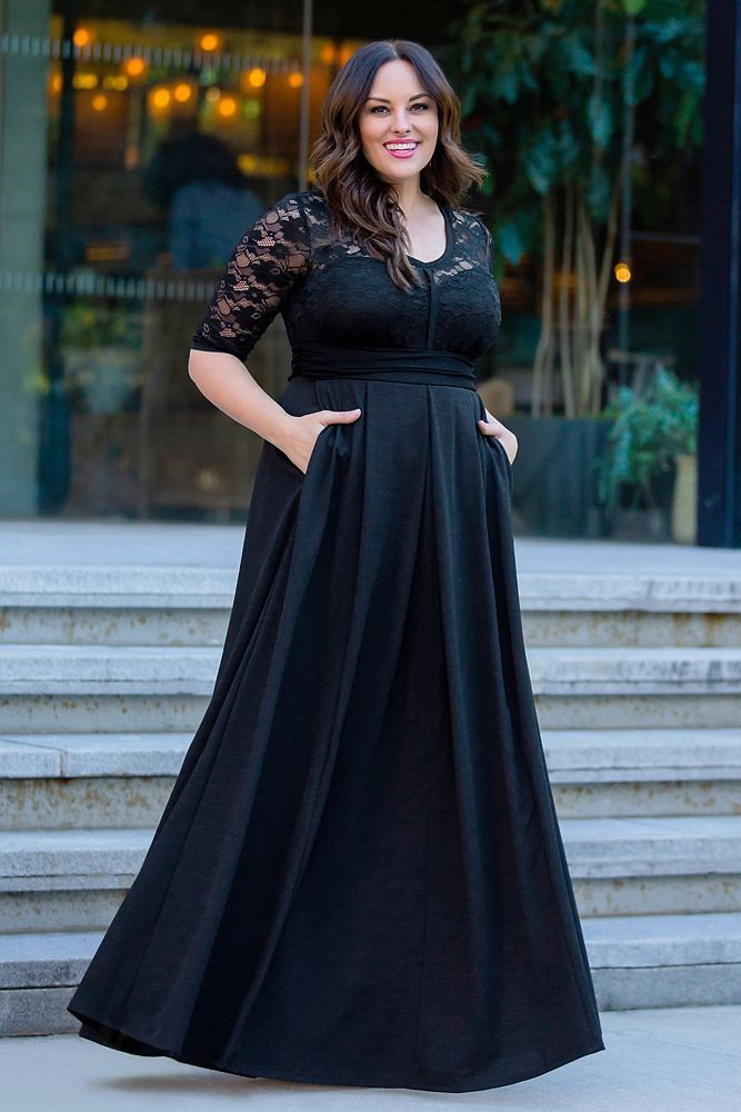 Madeline Plus Size Evening Gown Style 13182606, Onyx, 0X in 2019 ...