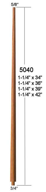 Best 5040 34 Colonial Pin Top Baluster Colonial Stairs 400 x 300