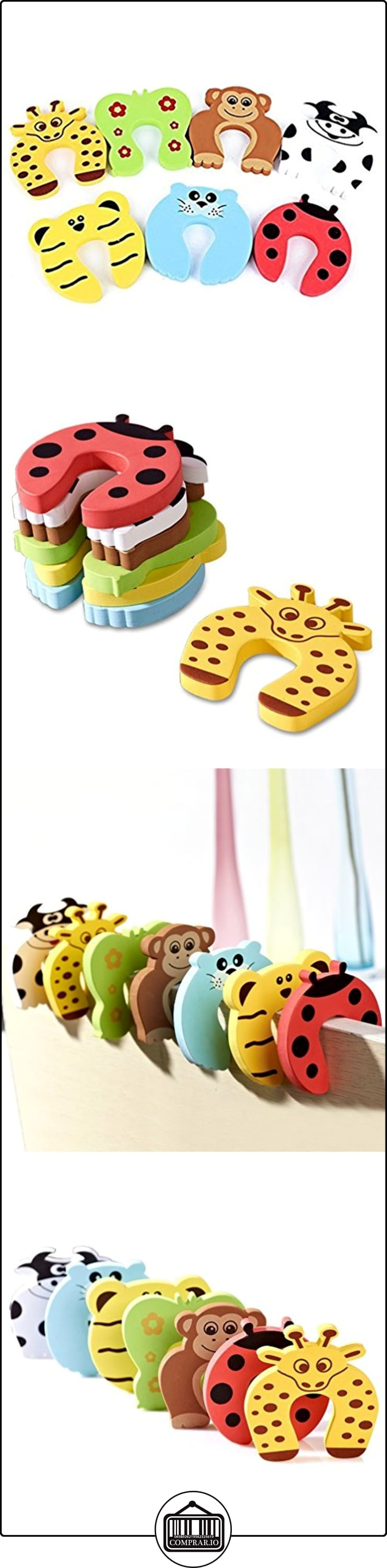 NuoYo Tope Clip Protector Puerta Dedos Seguridad Pa Bebé y los Niños(Pack de 7 Piezas)  ✿ Seguridad para tu bebé - (Protege a tus hijos) ✿ ▬► Ver oferta: http://comprar.io/goto/B01M28FXVJ