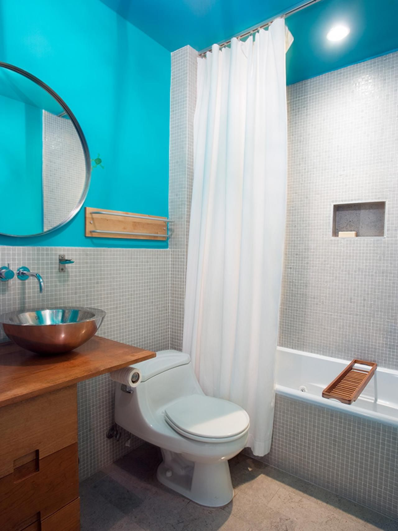 Our Favorite Bright Bold Bathrooms Modern Bathroom Design Best Bathroom Colors Small Bathroom Colors