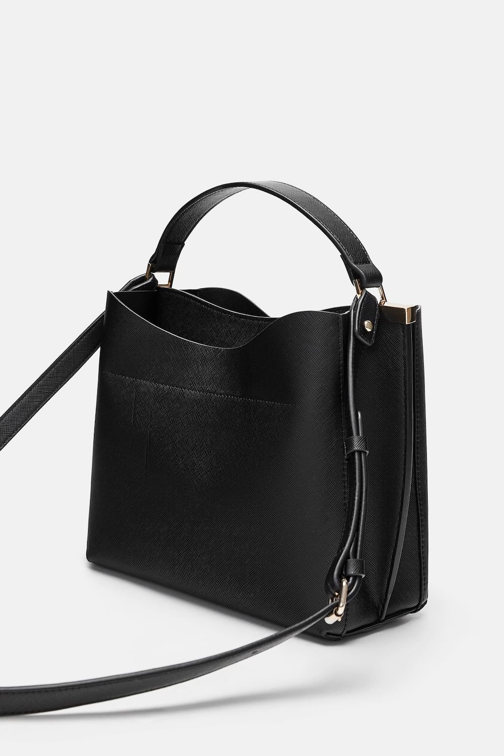 2eb667bbbd10 Image 4 of MIDI CITY BAG WITH COMPARTMENTS from Zara