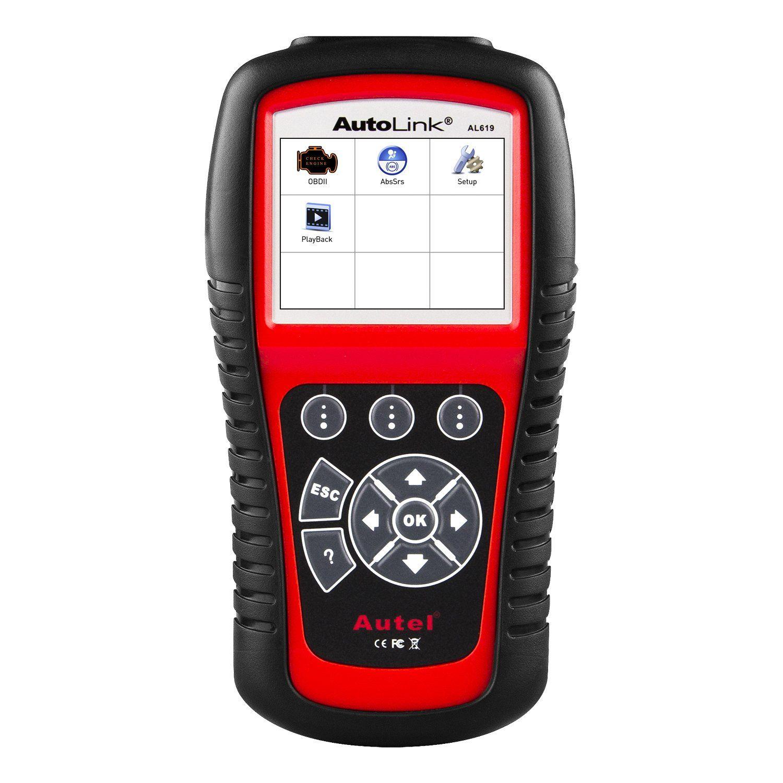 Autel al619 autolink engineabssrs auto obd2 scanner car