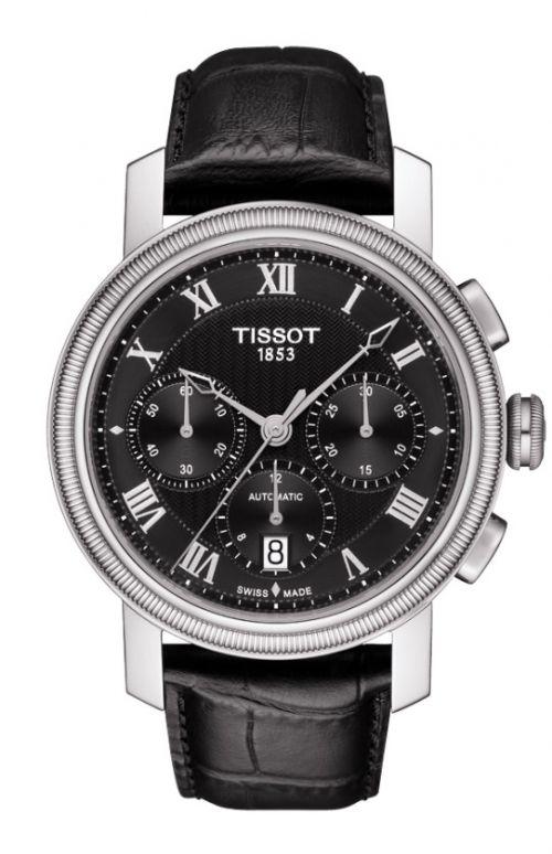98374a6a4 Tissot Bridgeport Gent Automatic Chrono Valjoux T097.427.16.053.00 ...