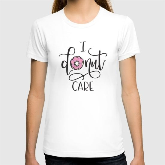#donut #donutpun #donutcare #donutshirt #tshirtdesign #handlettering #calligraphy #moderncalligraphy #drawing #handmade #illustration