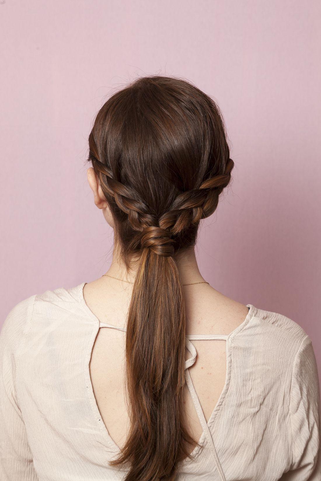 Rock this versatile low braid in minutes flat super easy hair