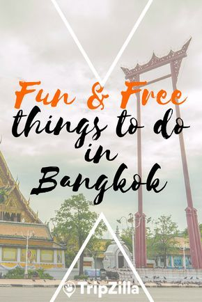 Itching to travel to Bangkok for some rest and relaxation, but your bank account balance says otherwise? Don't worry! There are still plenty of fun things to do in the capital city of Thailand without going on a shopping spree. Here's a list of FREE things to do and inexpensive places for you to check out! >> https://www.tripzilla.com/bangkok-fun-free-things-to-do/42122