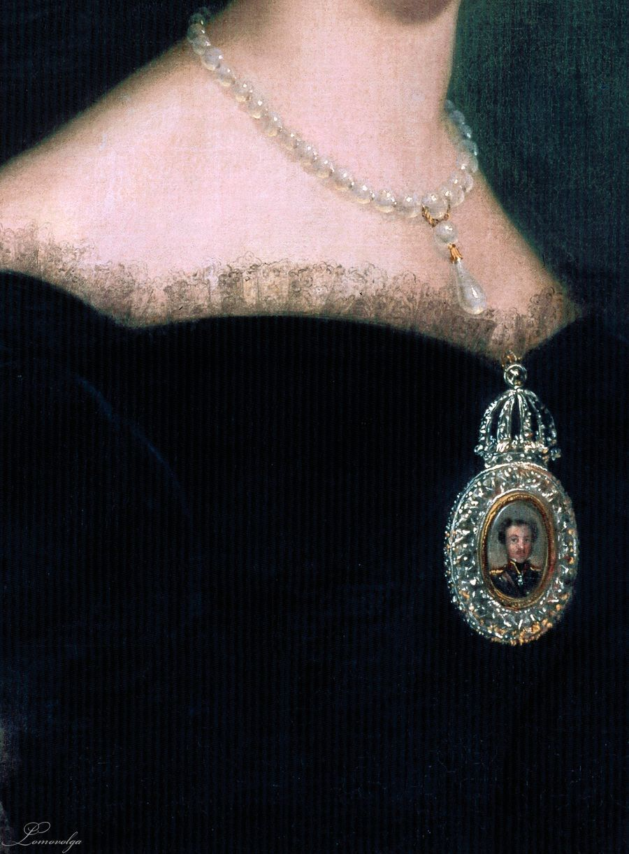 Imperatriz do Brasil Dona Amelia de Leuchtenberg by Jaime Young Gante