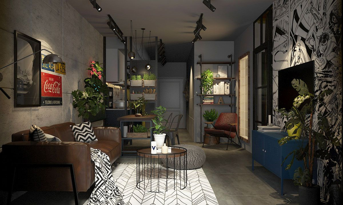 Four Types Of Industrial Style Decor Home Home Decor
