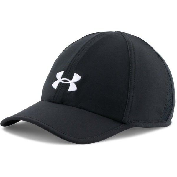 outlet store 4259c 6e397 Under Armour Women s UA Shadow 2.0 Cap ( 22) ❤ liked on Polyvore featuring  accessories, hats, black, black cap, under armour, embroidered hats, caps  hats ...