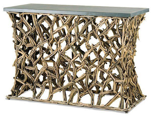 Currey Montauk Console Table-3115