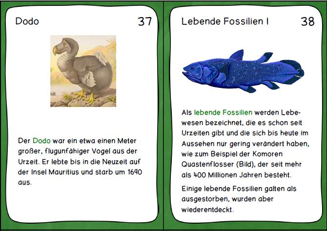 Wissenskarten Unsere Erde Unsere Erde Wissen Lebendes Fossil