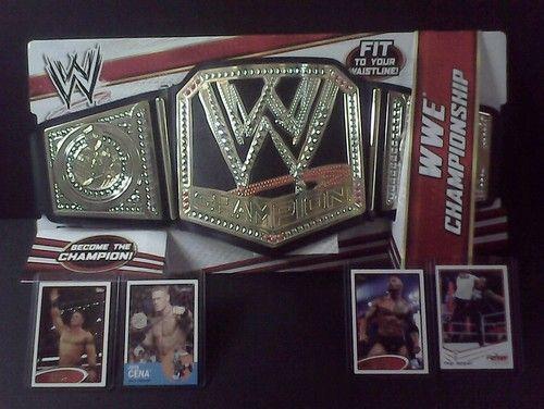 New WWE Mattel Championship Belt