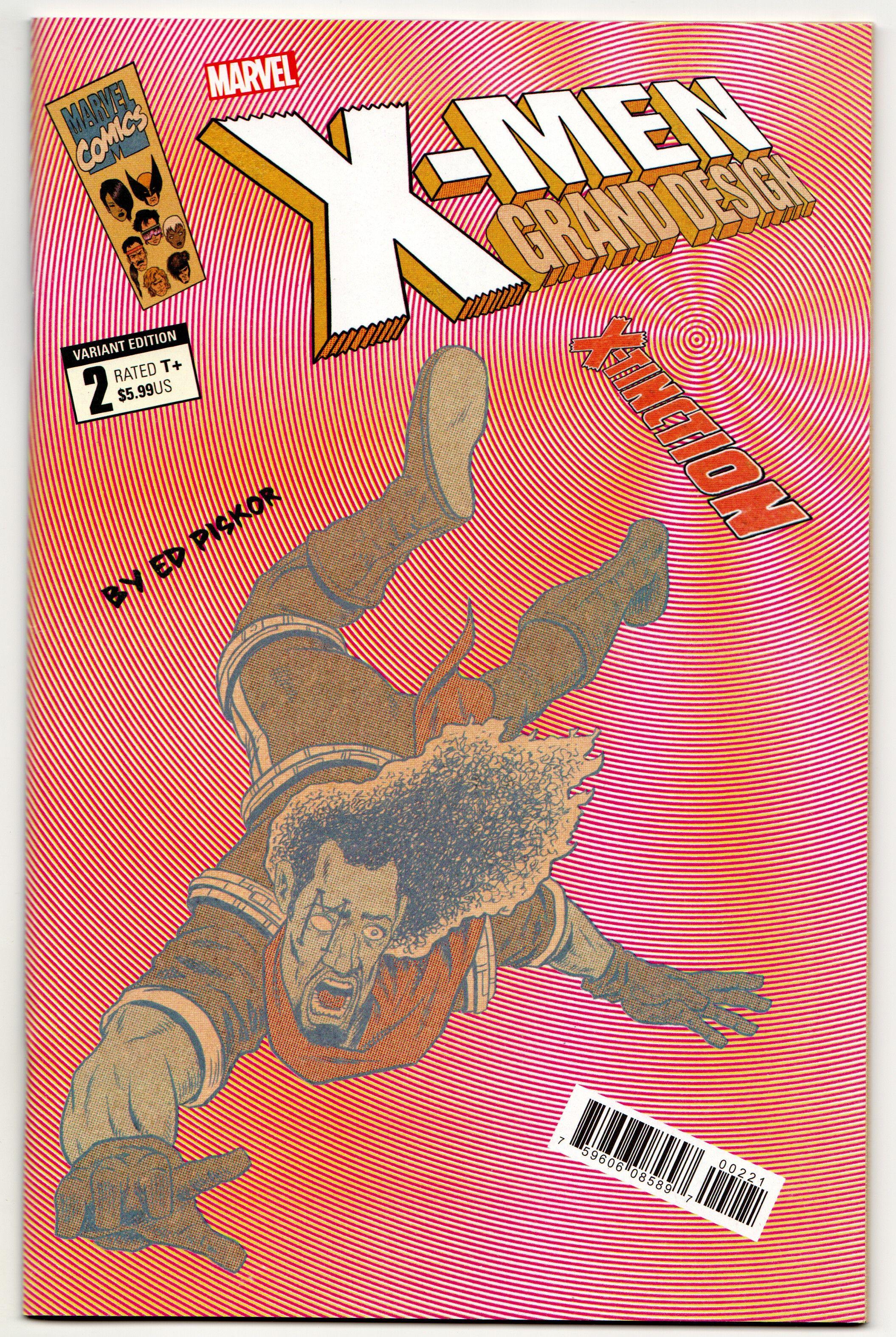 X Men Grand Design X Tinction 2 Piskor Variant Marvel 2019 Nm Marvel X Men Grand Designs
