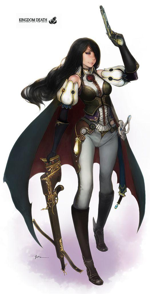 Kingdom Death - Great Game Hunter by lokmanlam.deviantart.com