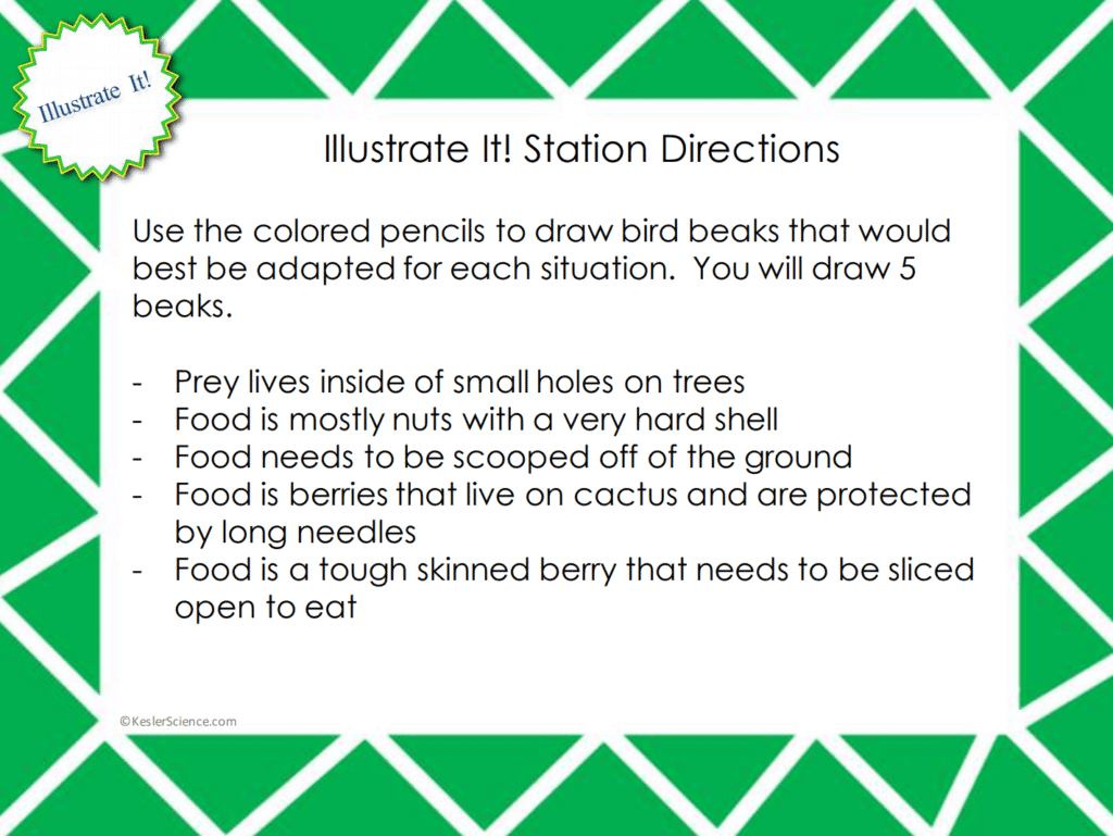 Natural Selection 5e Lesson Plan