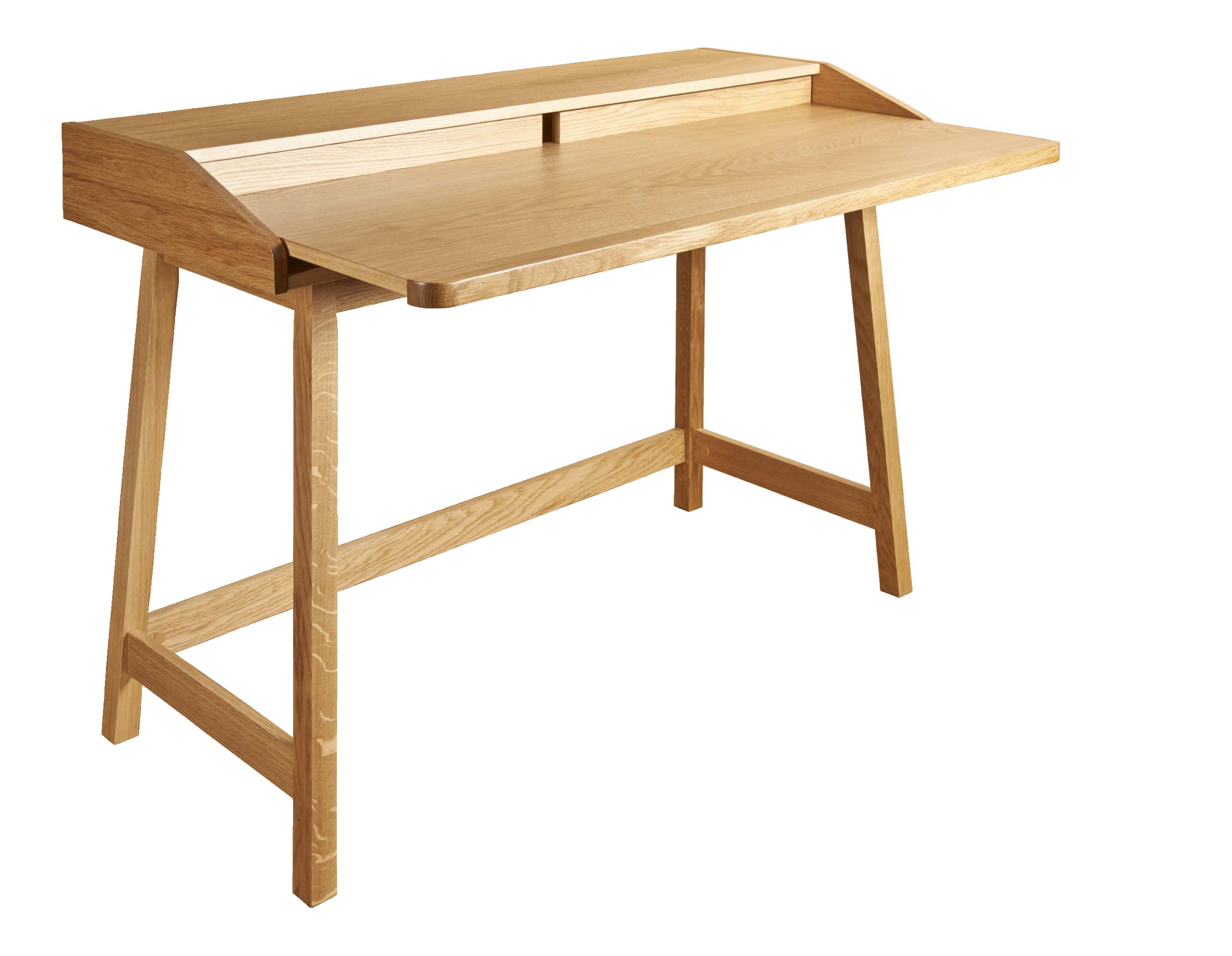 St james bureau en chêne deco desk oak desk et