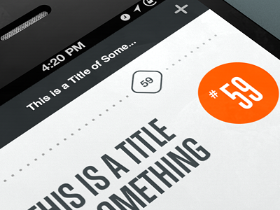 Dribbble - Number 59 by Rally Interactive