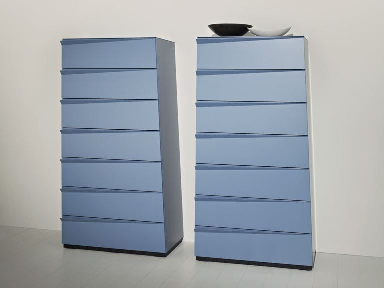 Lacquered chest of drawers BABEL by EmmeBi design Claudio Lovadina