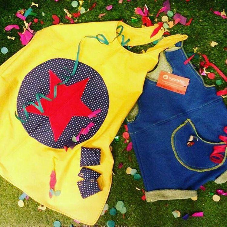 #Repost @desideescoletivo with @repostapp ・・・ A loja pop up @desideescoletivo fez uma seleção para que os pequenos possam se divertir no carnaval.  Escolhemos peças em malha ou algodão para dar muito conforto e também para serem usadas no dia-a-dia.  Macaquinho em malha da @boduchinhos e capa com punhos da @lojadanielasantos  Não esqueça de levar o kit carnaval des idées com máscara, confete e serpentina!! #desideescoletivo #popupstore #kitcarnavaldesidees #fantasiainfantil #carnaval2016…
