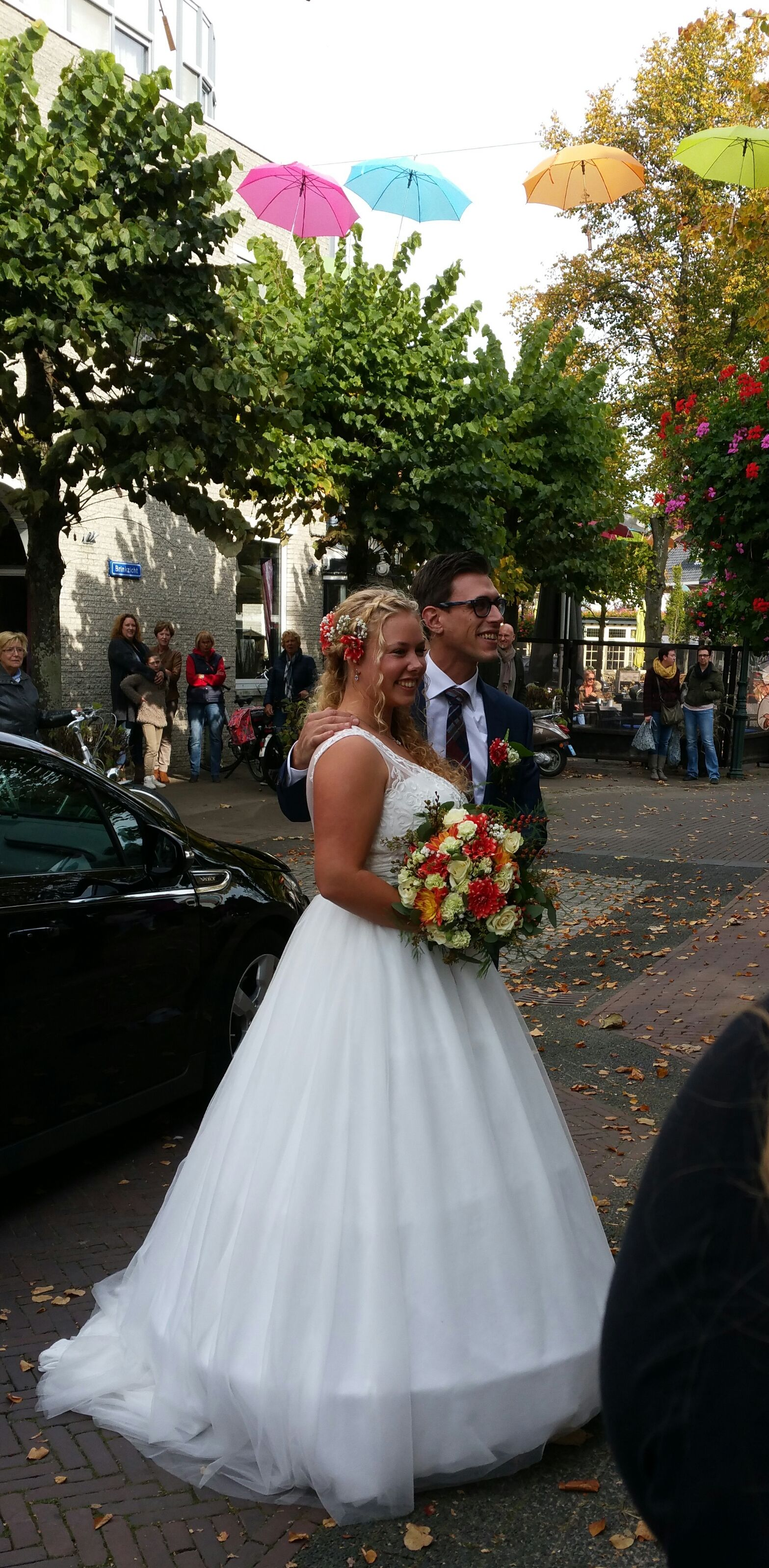 Bruid Marijke uit Baarn ook haar wimperextensions gedaan http://www.hairclusief.nl