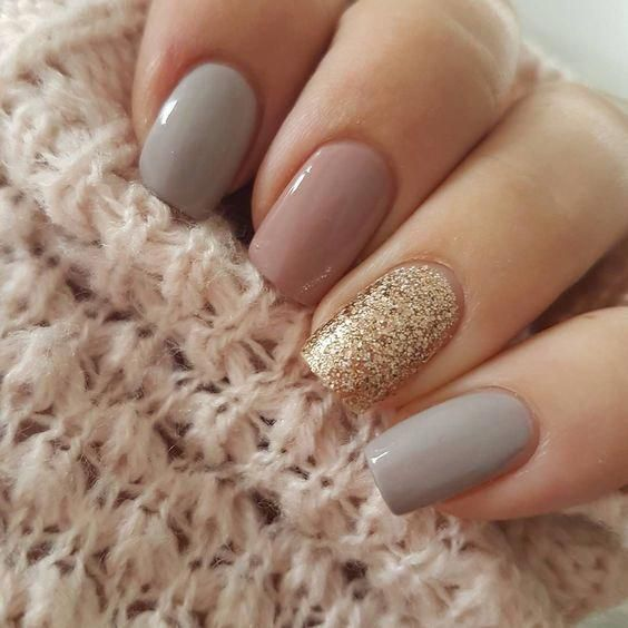 Awesome 60+ Gold Nail Art For Your Holiday Vibes Ideas - Nails -