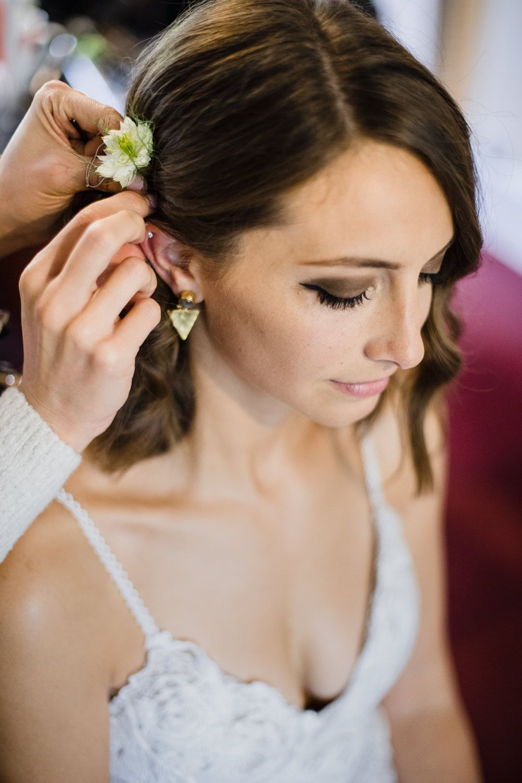 Rosa Grace Loves Lace Wedding Dress Shoreditch Village Underground