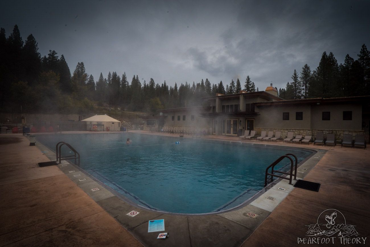 Soaking At The Springs In Idaho City Idaho City Hot Springs