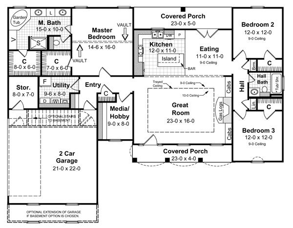 New House Plan Hdc 1752 1 Is An Easy To Build