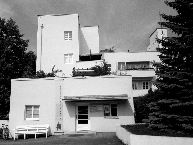 Peter behrens weissenhofsiedlung 1927 european for Villas weissenhofsiedlung