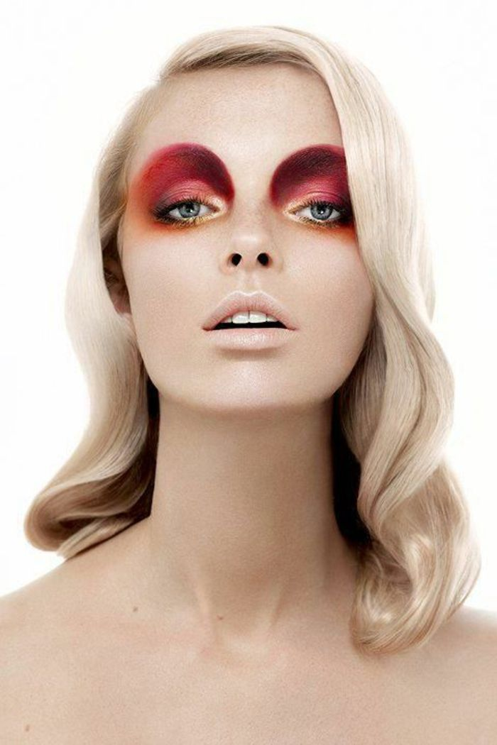 le meilleur maquillage artistique dans 43 images blonde yeux bleus filles blondes et. Black Bedroom Furniture Sets. Home Design Ideas