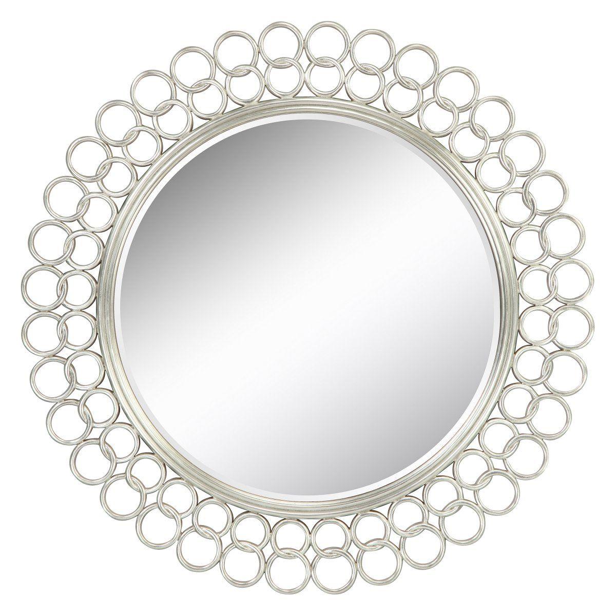 Salina Circles Decorative Mirror 42 Diam Wall Mirrors At