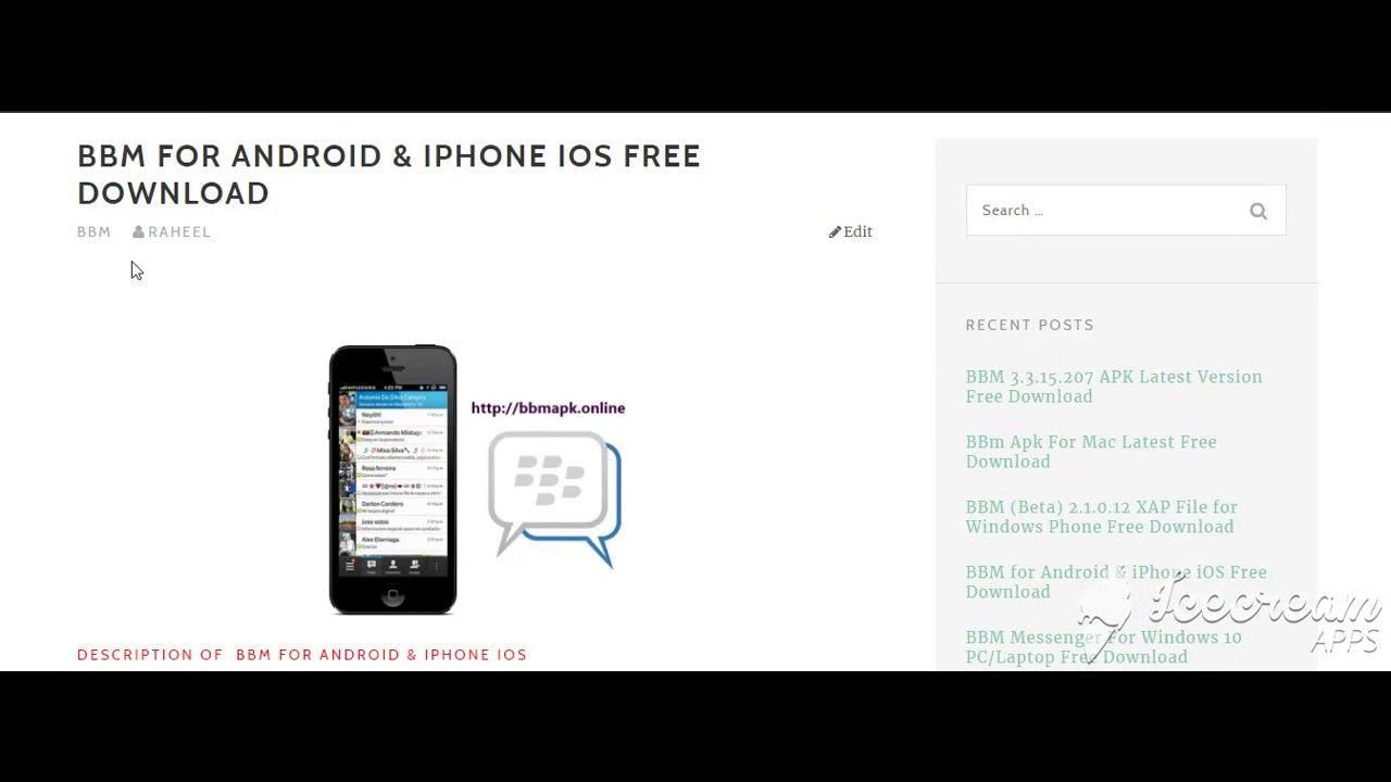 Bbm For Android Iphone Ios Free Download Https Bbmapk Online