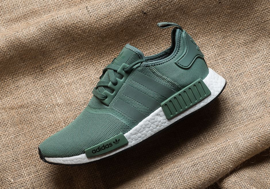 adidas NMD R1 Trace Green Release Date BY9692 | SneakerNews.com