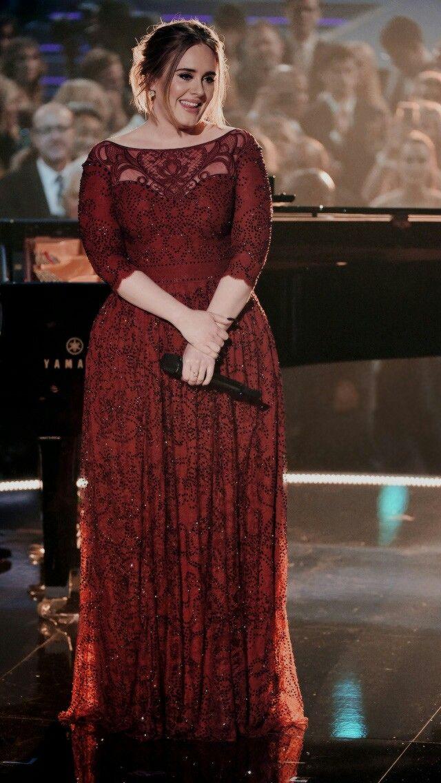 Gorgeus. Adele | Celebrities | Pinterest | Adele, Curvy and Prom