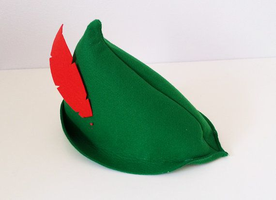 4c5860f4702 Ready-to-ship! Baby Toddler Child Peter Pan Green Hat with red ...