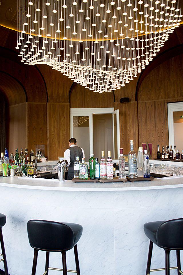 Hotel Royal Evian vague lumineuses Decoration entrep conseils