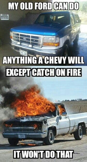 Dumbass Chevy Owners Leave It To The Real Men Chevy Jokes