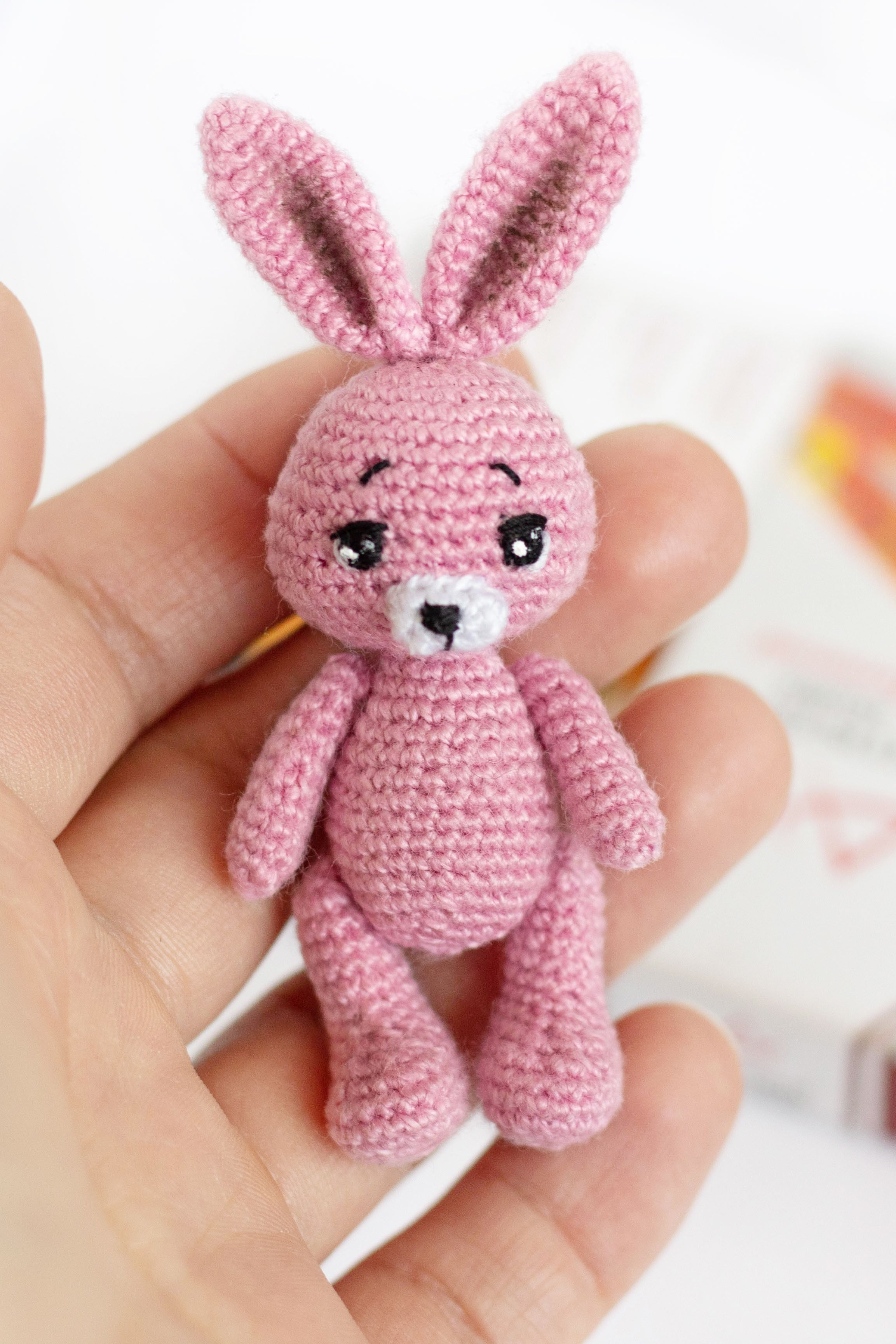 Crochet Amigurumi Bunny Toy Free Patterns Instructions | 3456x2306