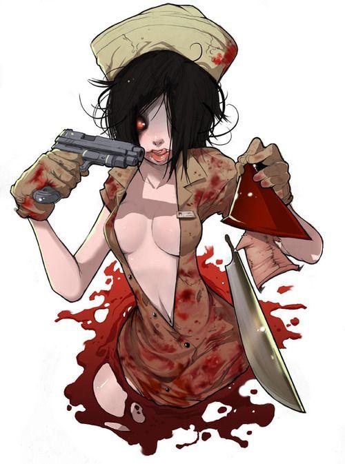 Silent Hill  3  Horror  Pinterest  Me gustas Ilustraciones y