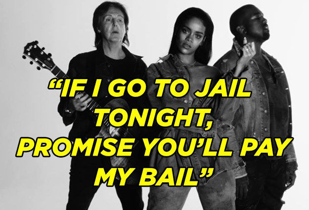 16 Of The Most Quotable Lyrics From 2015 Barbie Quotes Lyrics Paul Mccartney