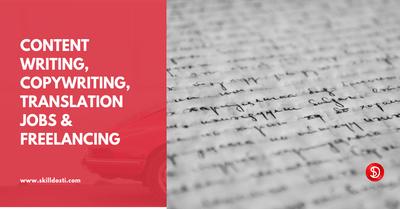 Content Writing Jobs In Delhi Writing Jobs Content Writing Freelance Writing Jobs