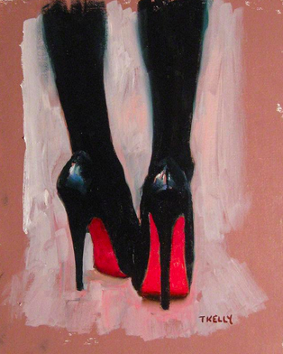 Black Heels by Tim Kelly. Found this on Google