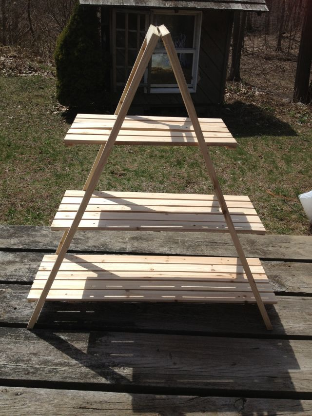 Plant Stand Tutorial Plant Stand Plans Pinterest
