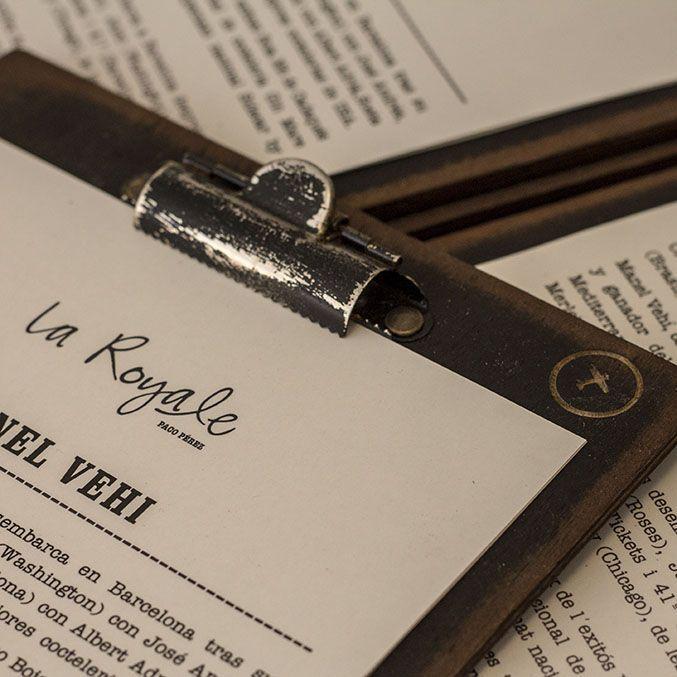 Cartas para restaurantes - Cartas exclusivas elegantes originales para tu restaurante