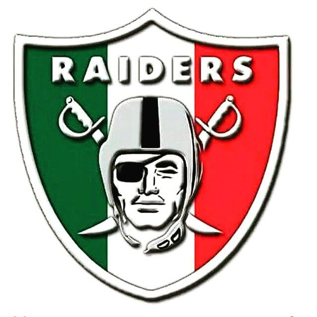 Raiders In Mex Colors Oakland Raiders Logo Raiders