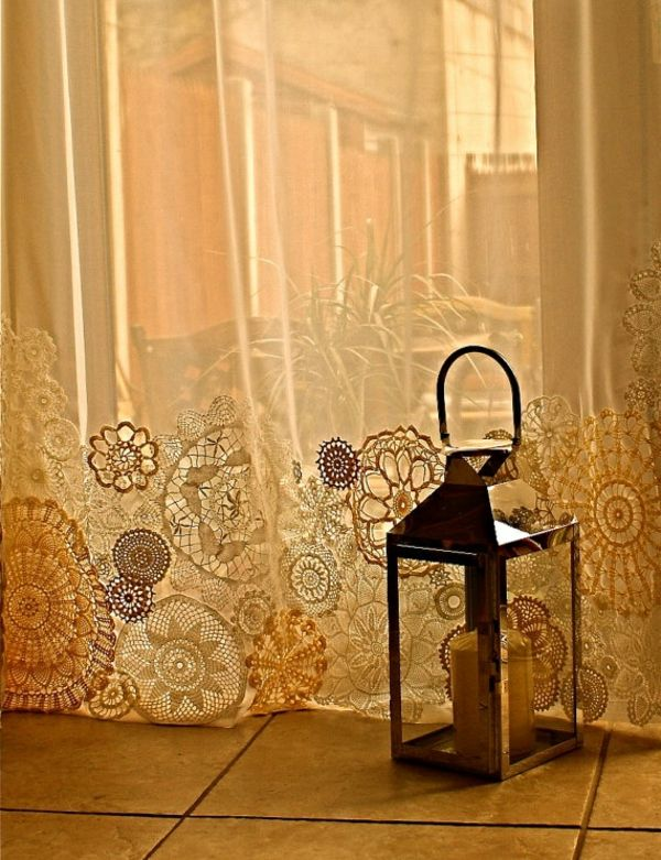 gardinen dekorationsvorschläg spitze | Möbel | Pinterest | Gardinen ...