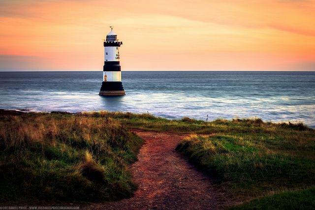 Penmon Point Lighthouse, Anglesey, Wales