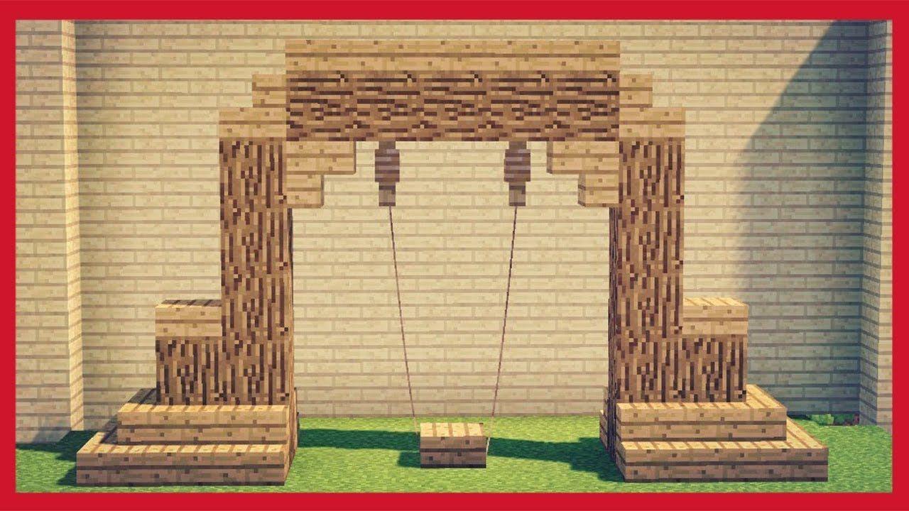 Come Fare Un Letto Su Minecraft : Minecraft: come fare un altalena giochi pinterest giochi